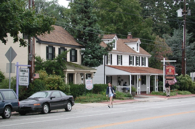 Brandywine Valley Scenic Byway - Buckley's Tavern in Centreville on Route 52