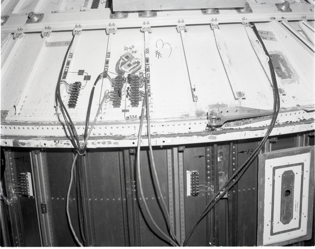CENTAUR EQUIPMENT MODULE FOR STRUCTURAL TEST IN THE SPACE POWER CHAMBER SPC NO. 2