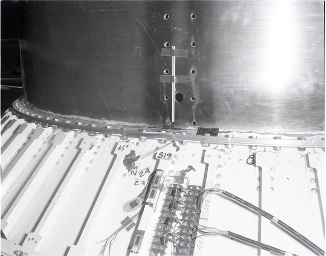 CENTAUR EQUIPMENT MODULE STRUCTURAL TEST AFTER TEST IN SPACE POWER CHAMBER SPC NO. 2