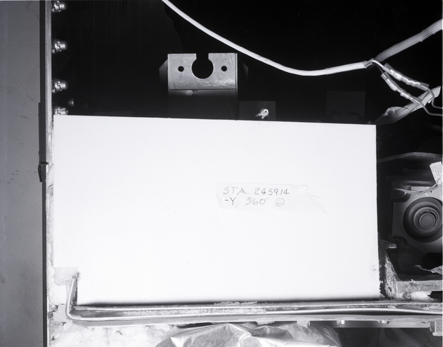 CENTAUR STANDARD SHROUD REMOVED FROM SPACE POWER FACILITY SPF TEST CHAMBER AT NASA PLUM BROOK STATION SANDUSKY OHIO