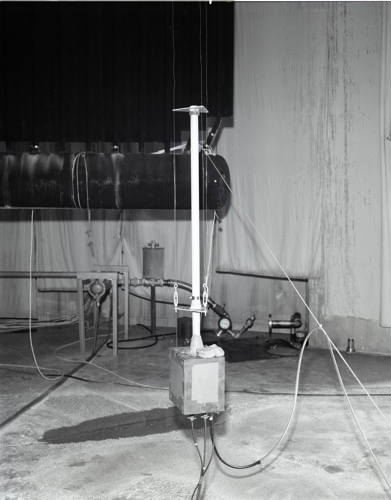 CLOUD PHYSICS EXPERIMENT AT NASA PLUM BROOK STATION