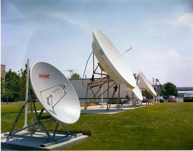 COMMUNICATION TECHNOLOGY SATELLITE CTS ANTENNA FARM