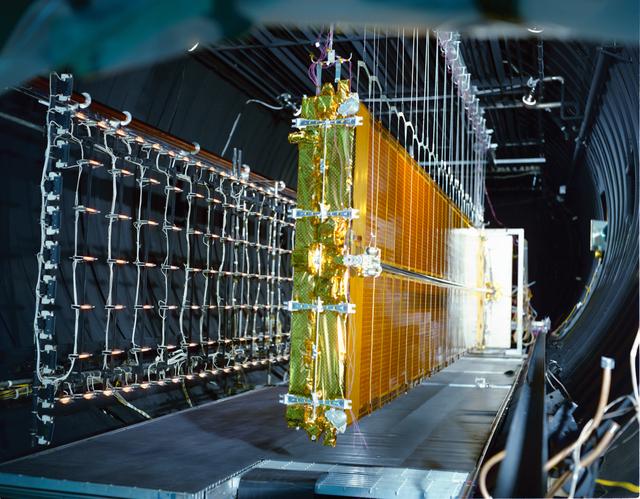 COMMUNICATION TECHNOLOGY SATELLITE CTS DSA F-1 SOLAR ARRAY