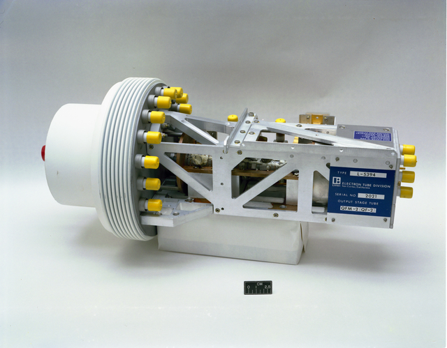 COMMUNICATION TECHNOLOGY SATELLITE CTS OUTPUT STAGE TUBE