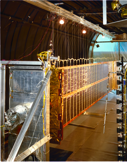 COMMUNICATION TECHNOLOGY SATELLITE CTS PROJECT - F2 - DEMORABLE SOLAR ARRAY