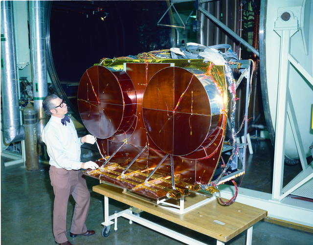COMMUNICATION TECHNOLOGY SATELLITE CTS PROJECT - TANK 5 OF THE ELECTRIC PROPULSION LABORATORY EPL