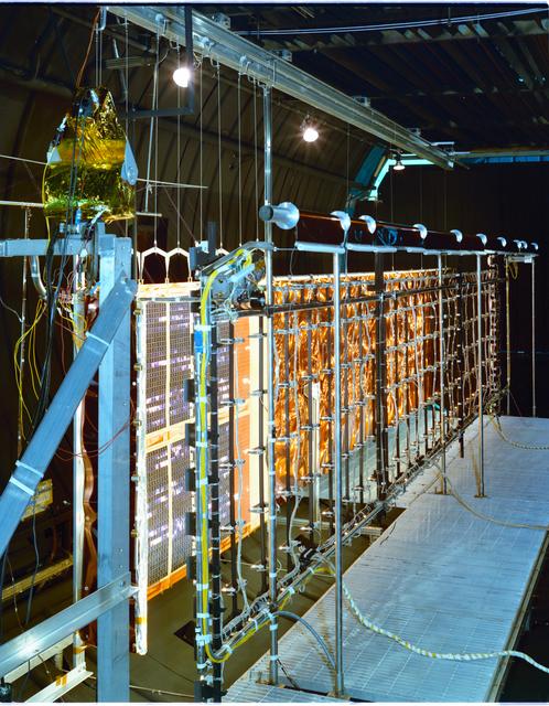 COMMUNICATION TECHNOLOGY SATELLITE CTS SPA SOLAR PANEL