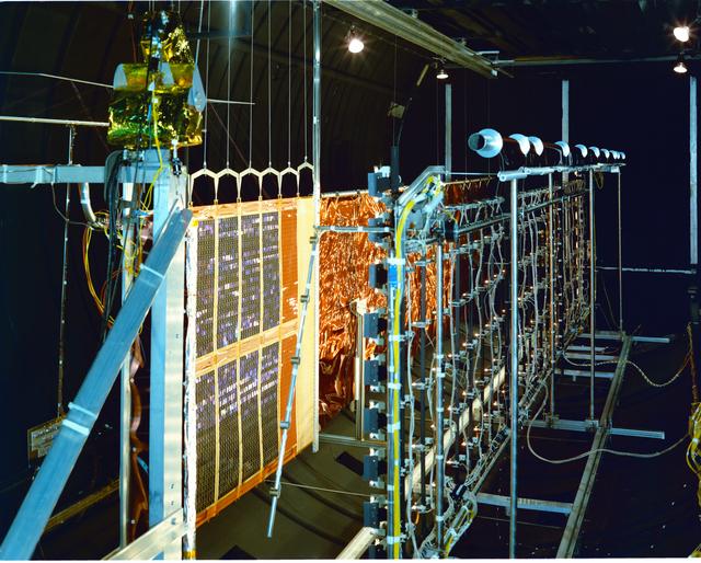 COMMUNICATION TECHNOLOGY SATELLITE CTS SPA SOLAR PANEL ASSEMBLY