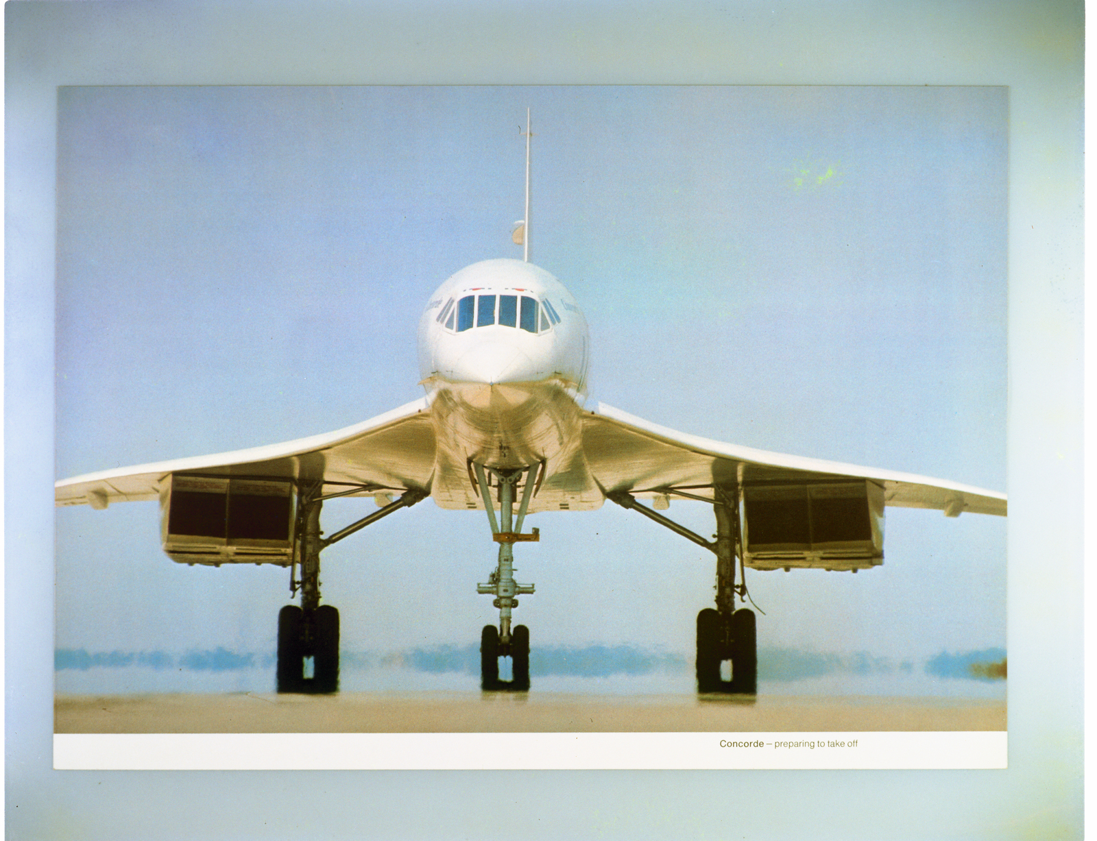 CONCORDE  - BRITISH FRENCH SUPERSONIC TRANSPORT AIRPLANE
