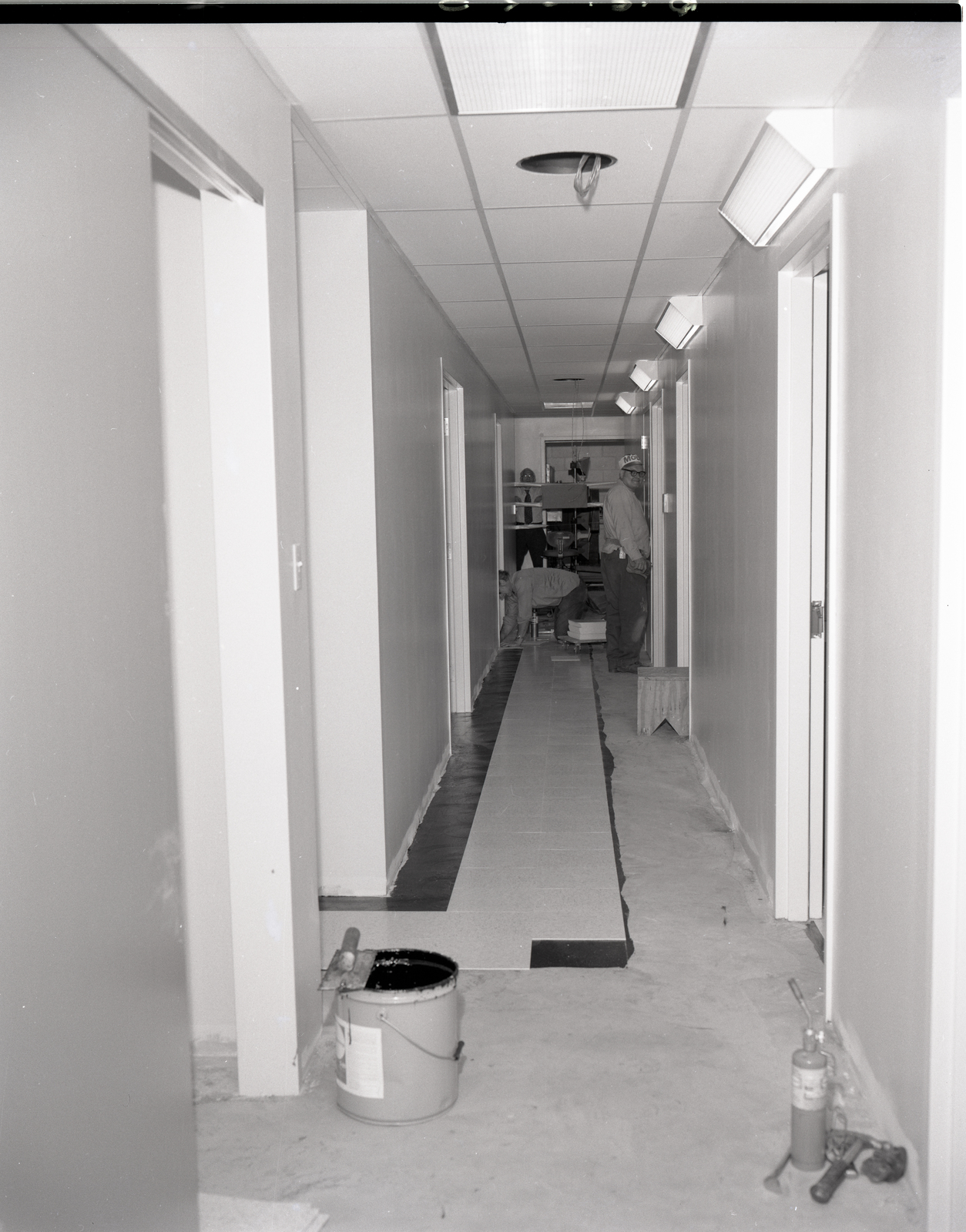 CONSTRUCTION AT THE PHOTOGRAPHIC BRANCH