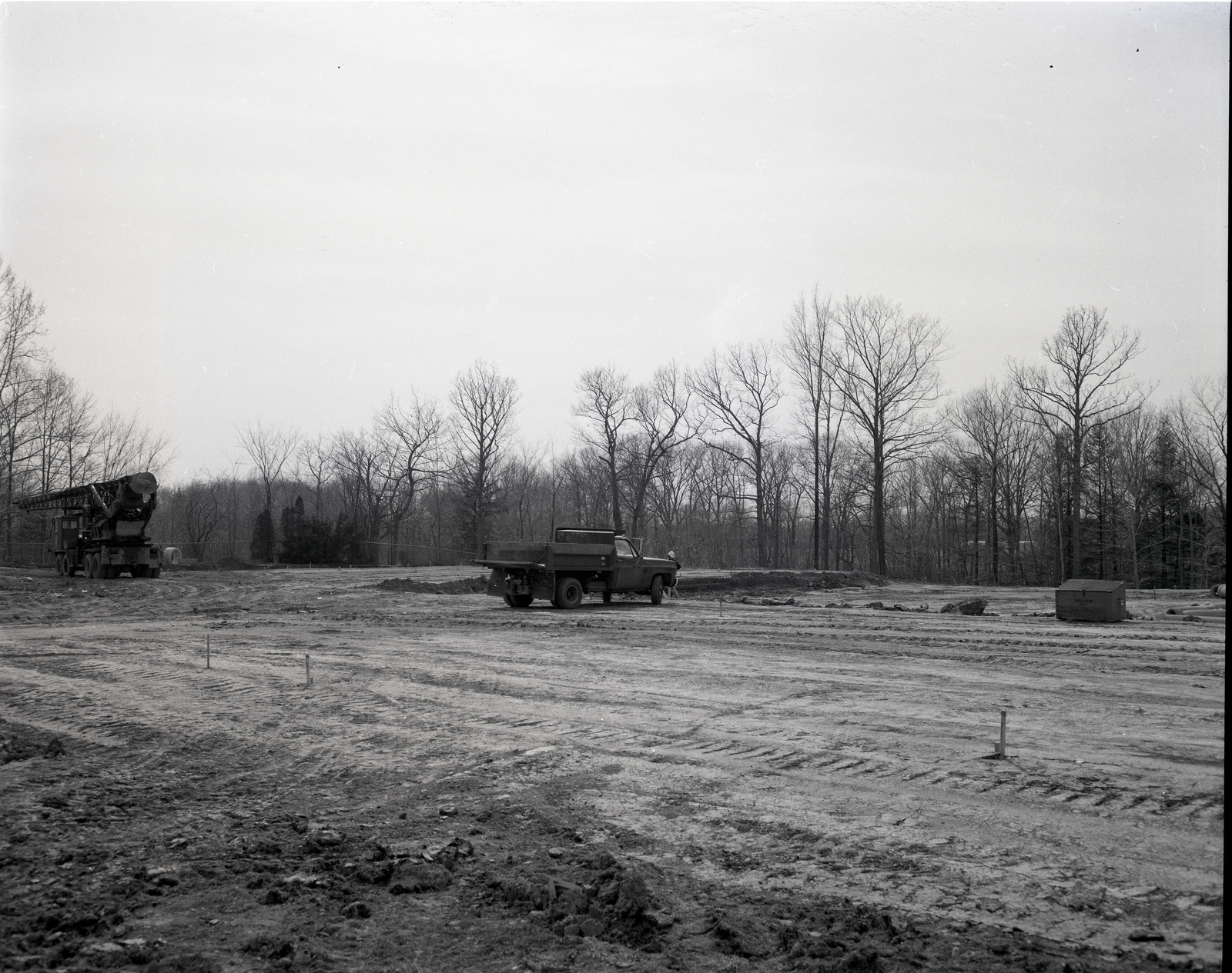 CONSTRUCTION OF THE RESEARCH ANALYSIS CENTER RAC BUILDING