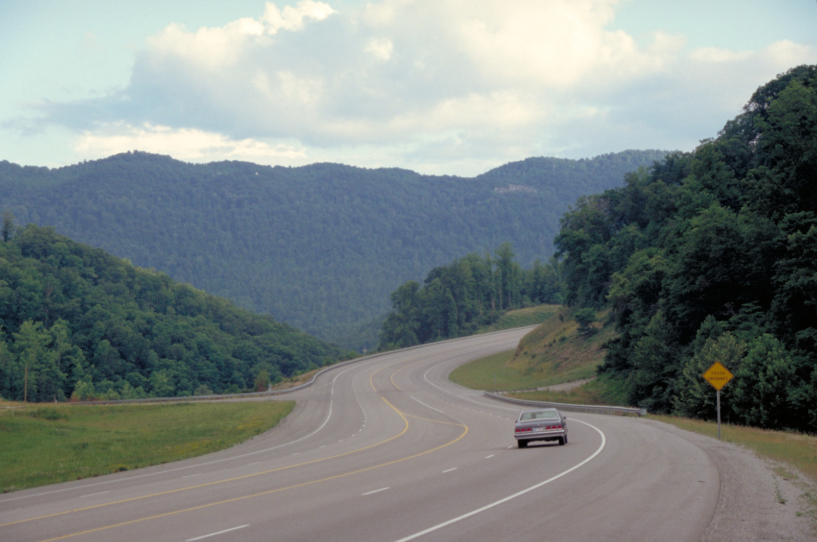 Country Music Highway - Highway 23 near Pikeville Looking South