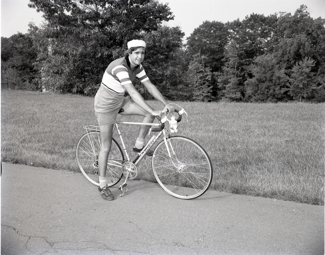 CROSS COUNTRY BICYCLE RIDER BOB OLSEY
