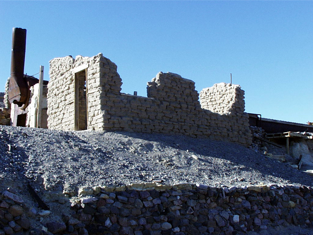 Death Valley Scenic Byway - Harmony Borax Works