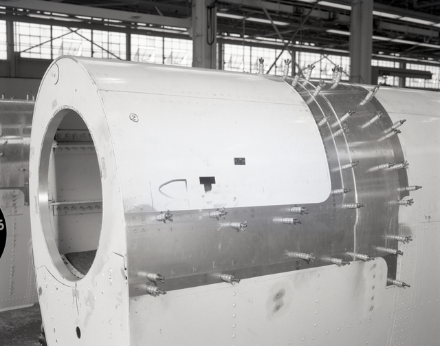 DOUBLER PLATES BEING MOUNTED ON BLADES