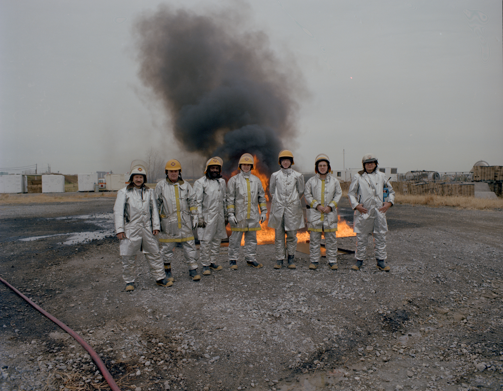 DRILL PIT FIRE TRAINING