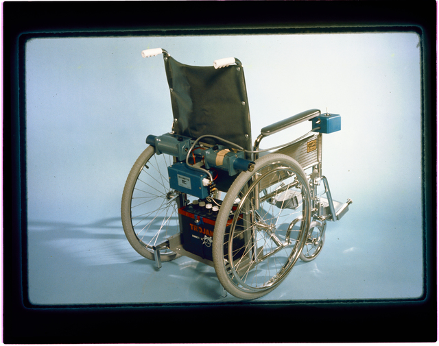 DRILL - WHEELCHAIR - MINE RESCUE VEHICLE - MINER FOR EXHIBIT