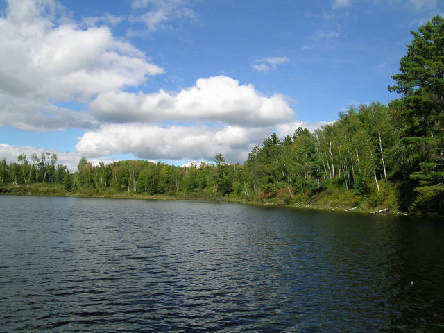 Edge of the Wilderness - A Panoramic View of Surprise Lake