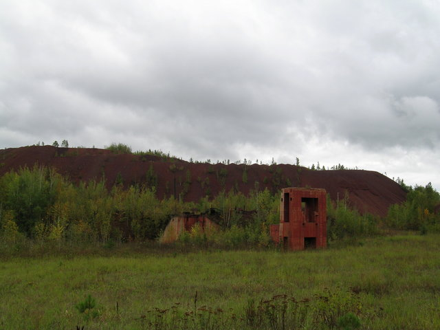 Edge of the Wilderness - Abandoned Structures at the Lind-Greenway Mine
