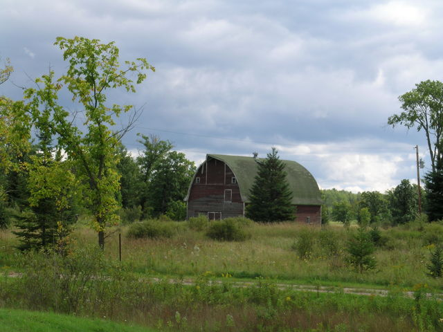 Edge of the Wilderness - An Old Barn Outside of Bigfork