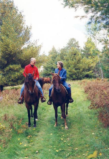 Edge of the Wilderness - Horseback Riding on the Edge of the Wilderness