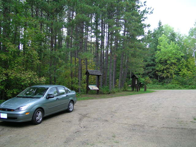 Edge of the Wilderness - Parking Lot at Suomi Hills