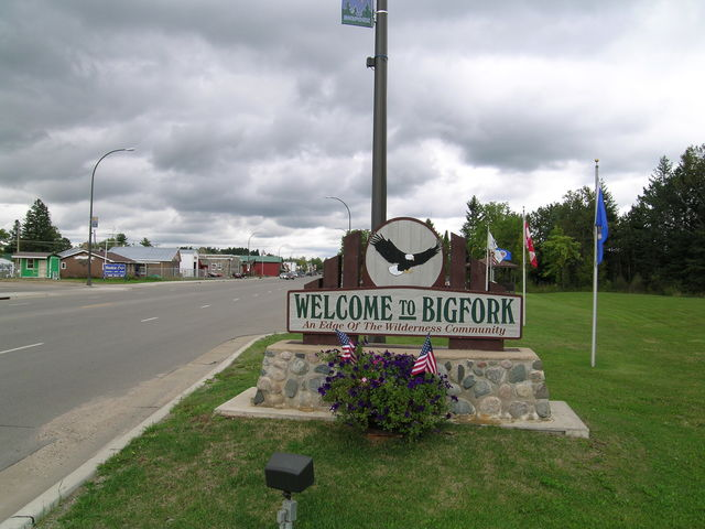 Edge of the Wilderness - The Entrance to Bigfork