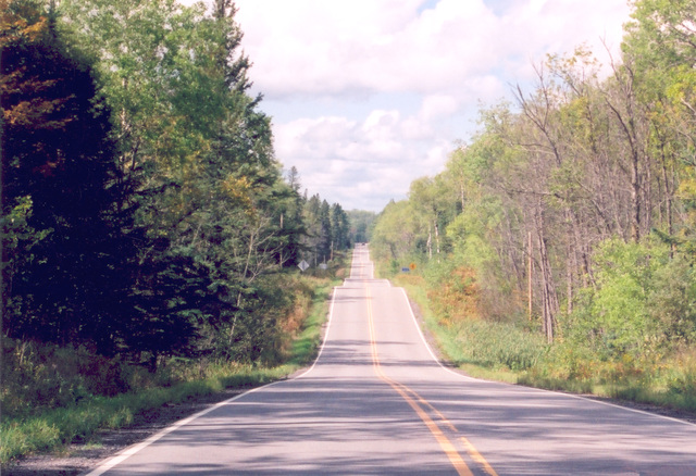 Edge of the Wilderness - The Hilly Terrain of the Edge of the Wilderness Scenic Byway