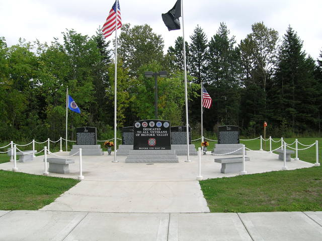 Edge of the Wilderness - Veterans Memorial in Big Fork