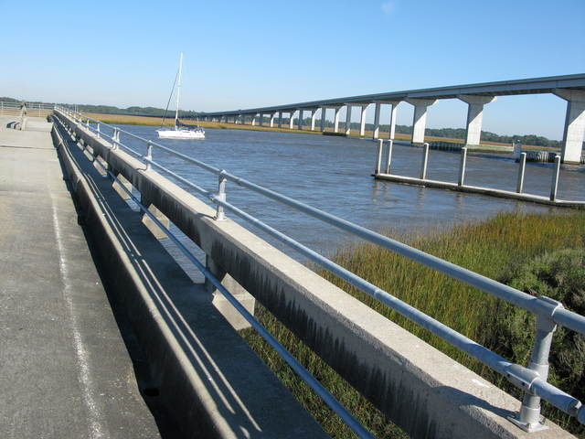 Edisto Island National Scenic Byway - Dawhoo Landing on the Atlantic Intracoastal Waterway
