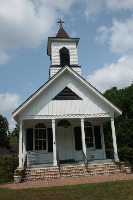 Edisto Island National Scenic Byway - Trinity Episcopal Church