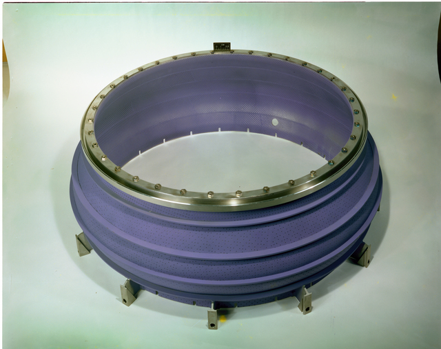 ENGINE RESEARCH COMBUSTION LABORATORY ECRL TEST CELL 1 COMBUSTOR INNER DIAMETER ID AND OUTER DIAMETER OD
