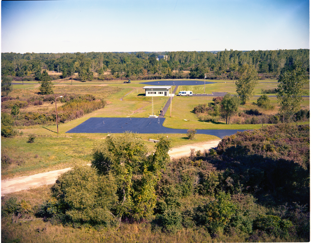 EPA ENVIRONMENTAL PROTECTION AGENCY NOISE ENFORCEMENT FACILITY AT NASA PLUM BROOK STATION