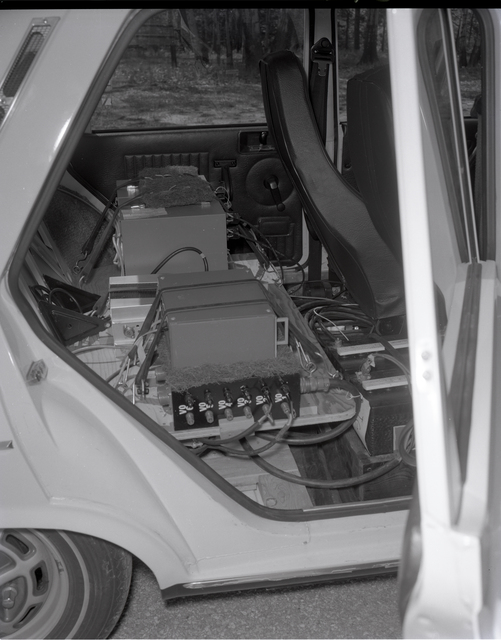 EVA CAR IN THE SPC SPACE POWER CHAMBER SHOP