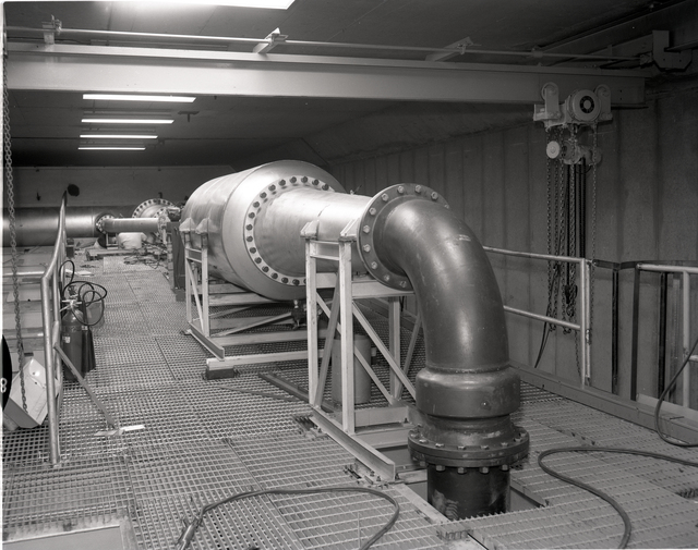FIT HAUSTER LINE IN THE 9X15 FOOT WIND TUNNEL