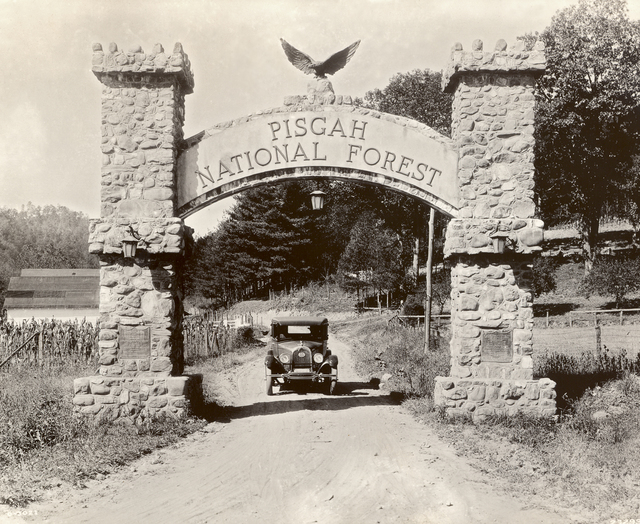 Forest Heritage National Scenic Byway - Pisgah National Forest Entrance Arch