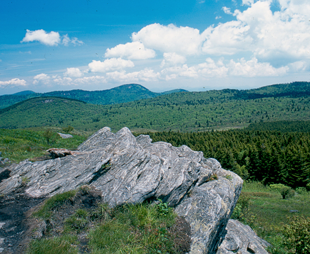Forest Heritage National Scenic Byway - Shining Rock Wilderness