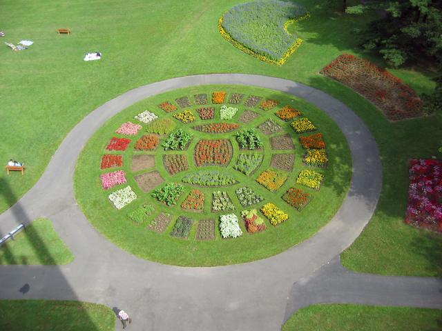 George Washington Memorial Parkway - Flowers Below Netherlands Carillon