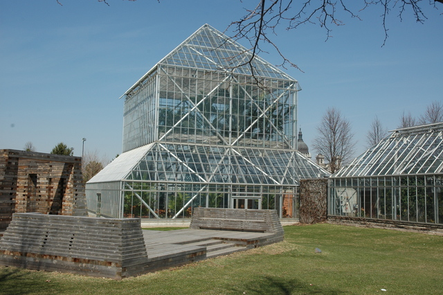 Grand Rounds Scenic Byway - Conservatory in Sculpture Garden