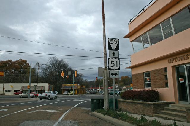 Great River Road - Leaving Covington Town Square