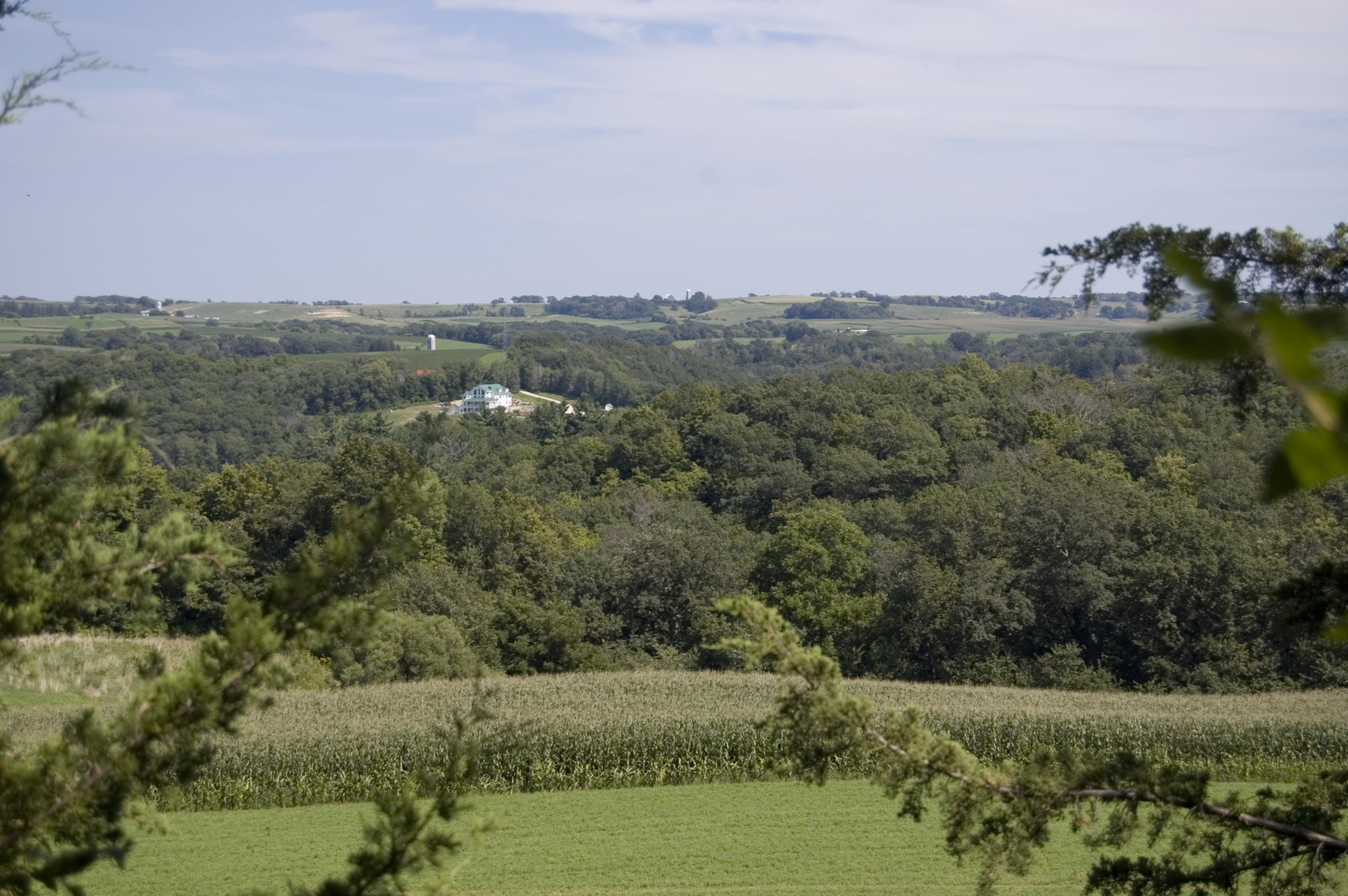 Historic Bluff Country Scenic Byway - View from Inspiration Point on SR 16