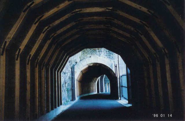 Historic Columbia River Highway - The Mosier Twin Tunnels along the Historic Columbia River Highway