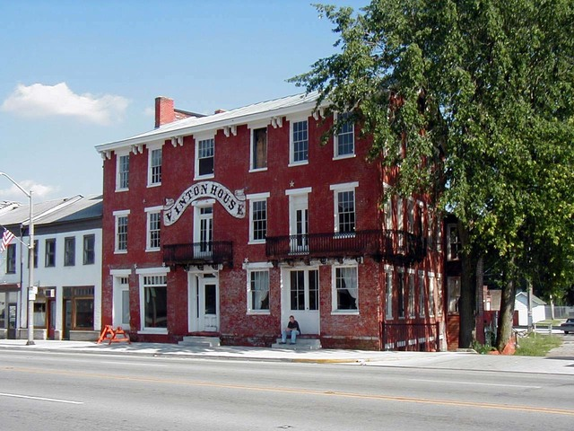 Historic National Road - Vinton House in Cambridge City