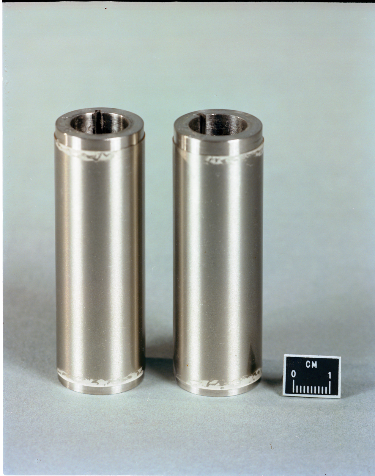 ICEPHOBIC COATINGS ON STAINLESS STEEL CYLINDERS