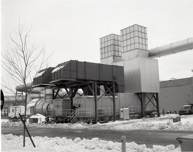ICING RESEARCH BUILDING IRT - GENERAL ELECTRIC GE TURBINE FACILITY