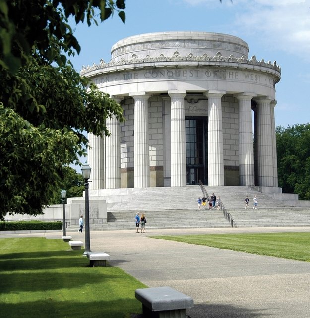 Indiana's Historic Pathways - Looking at the George Rogers Clark Memorial