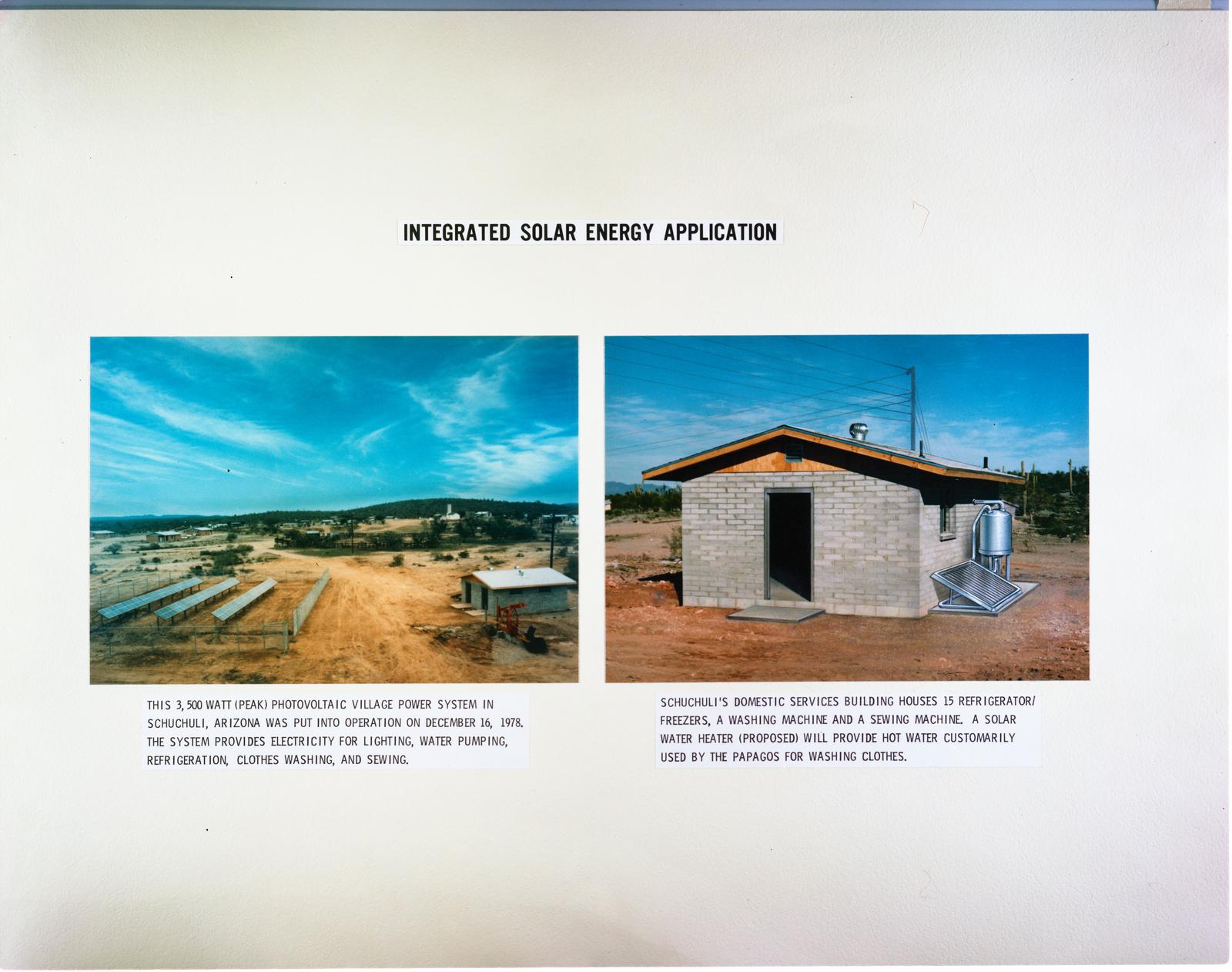 INTEGRATED SOLAR ENERGY APPLICATION IN ARIZONA - PICRYL