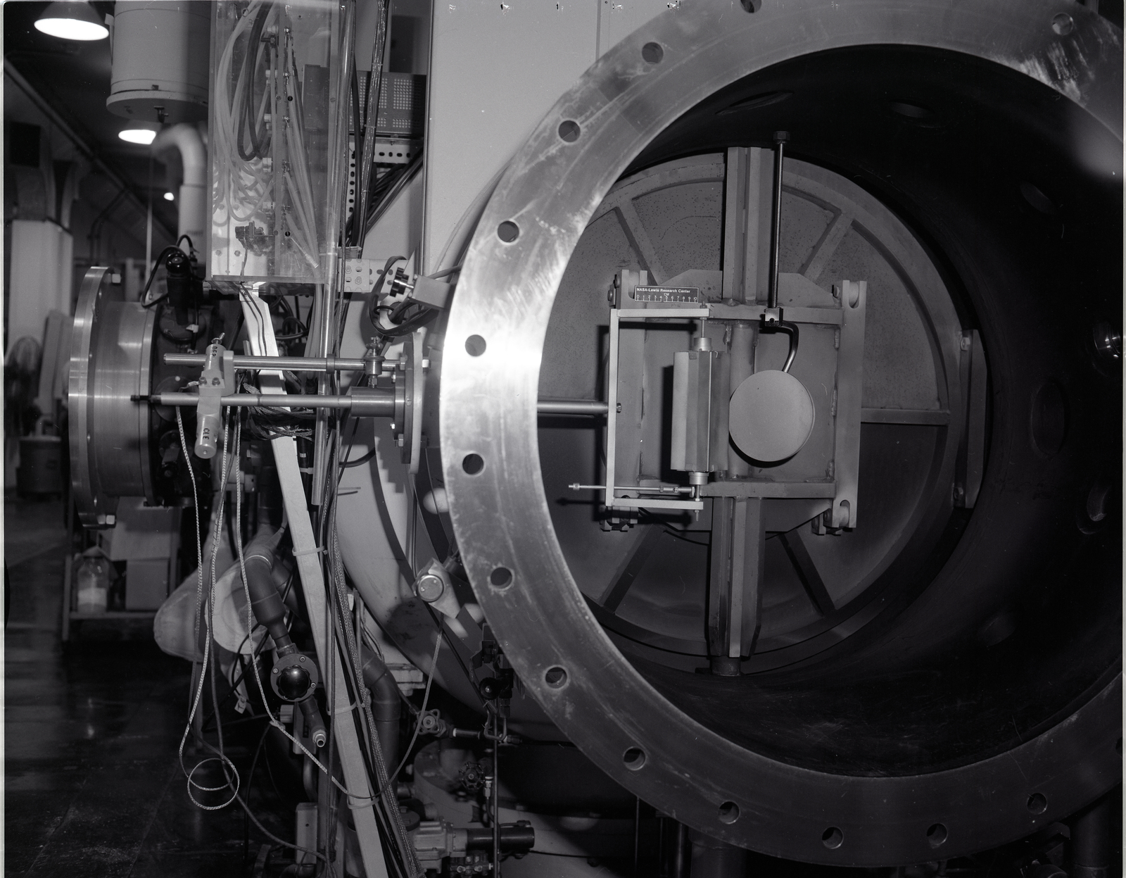 ION ENGINE AND ION ENGINE SPECIMEN AND HOLDER