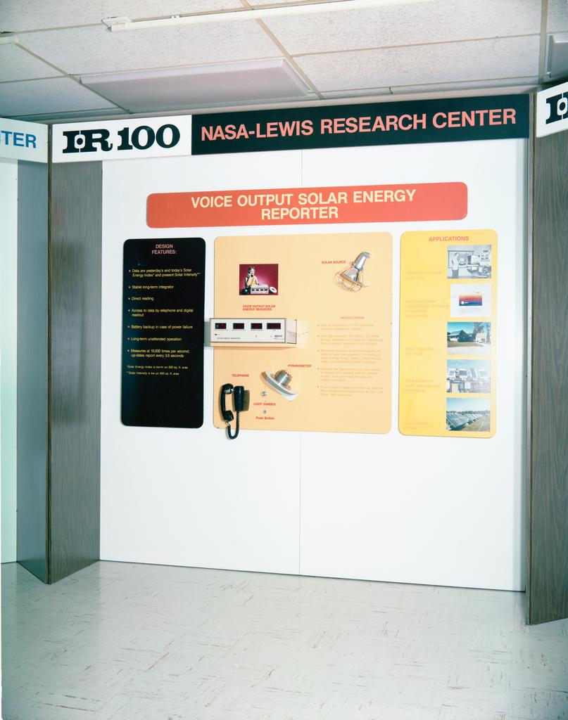 IR-100 AWARD EXHIBIT