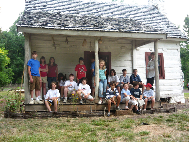 Journey Through Hallowed Ground Byway - Enjoying Extreme Summer Camp at Gilmore Cabin, Montpelier